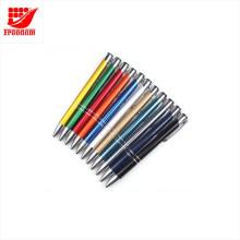 Дешевые индивидуальные логотип металл шариковая ручка