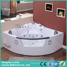 Bañera de hidromasaje de esquina gemela con TV (TLP-632)
