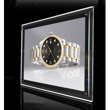 Benutzerdefinierte Edge Lit Led Slim Crystal Light Box