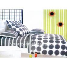 100% Cotton Geometric Pattern Design Reactive Printed Duvet Cover Set