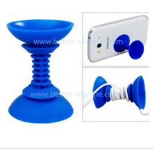 Soporte promocional del mandril del teléfono de goma de silicona