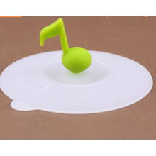 Food Grade Transparent Party Helper Reusable Silicone Cup Lid