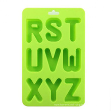 Fashioon Creative Various Letters Shap Silicone Ice Trays