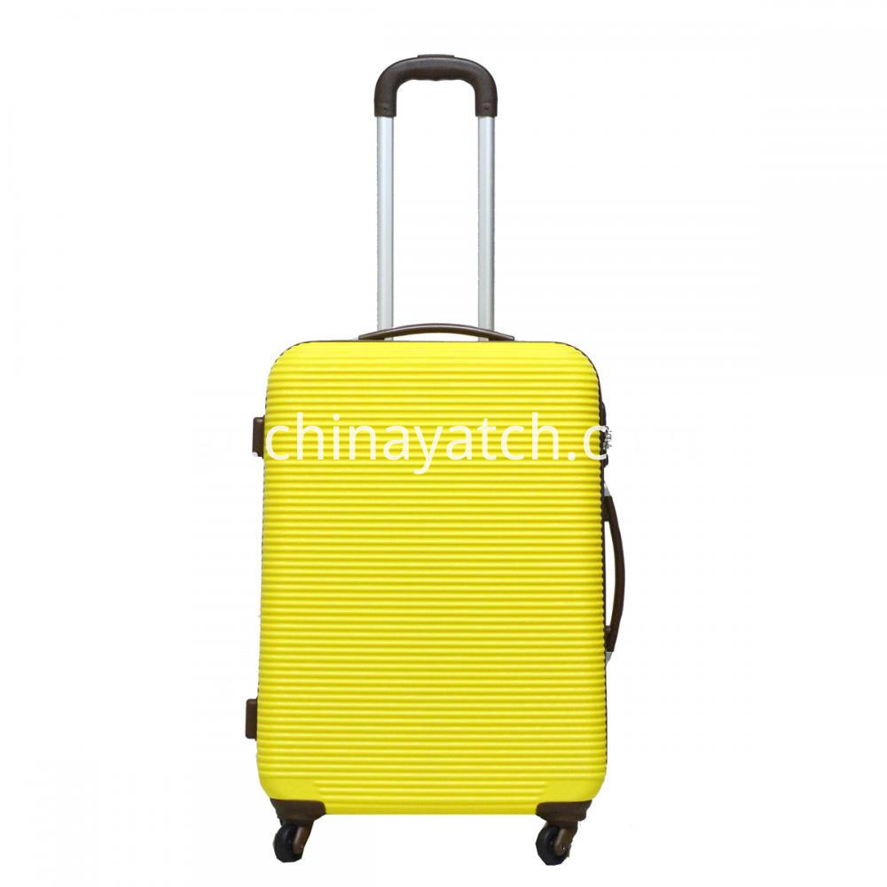 Abs Luggage With Aluminum Tube