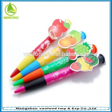 Größere Clip benutzerdefinierte Werbe Stift für Schule & Office supply
