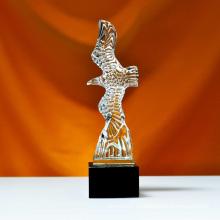 Nuevo diseño águila estatuas Grand Spirit Eagle para la decoración de negocios
