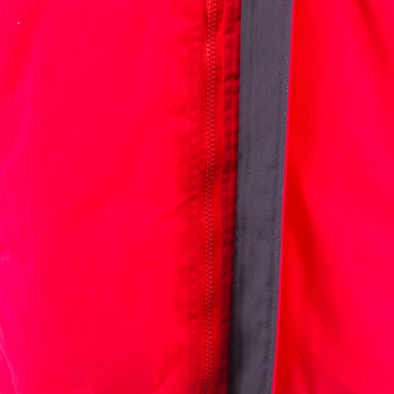 Two Layers Red  Padded Coat