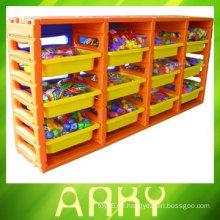 Kindergarten Plastikregal für Spielzeug