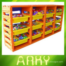 Kindergarten Plastic Shelf for Toy