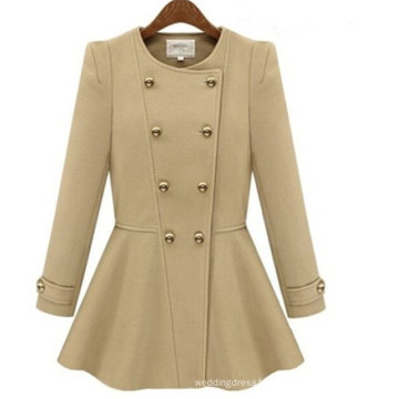 Hot Fashion Womens Autumn and Winter Long Sleeve Jacket