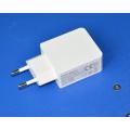 Carregador de viagem QC3.0 Adaptador de carregador de parede USB EU / Us Plug