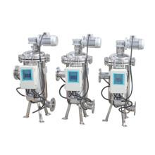 Escova industrial automática do controle do temporizador que suga o filtro de água