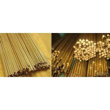Barres rondes en cuivre en bronze de 30 mm / barres en alliage de cuivre en bonne ductilité
