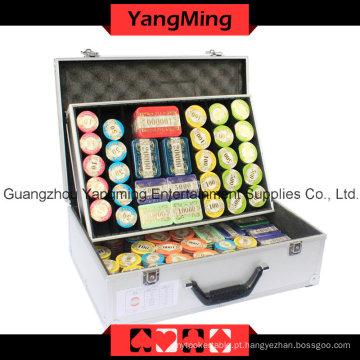 High-Grade França Chip Poker Set 760PCS (YM-TZCP017)