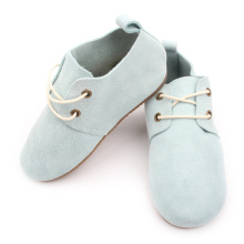 Nya stilar Fashion Leather Kids Rubber Oxford Shoes
