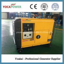 Generador diesel del ruido bajo 5kVA de la venta caliente fijado con AVR