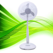 "16"" AC & DC automatic conversion led fan, rechargeable standing fan, china rechargeable fan"