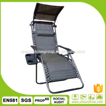 Promotional closeout outdoor furniture,recliner chair