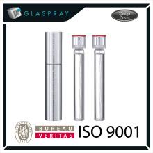15ml SOLE Slim CNC Brushed SilverTwist up Refill Emballage de parfum