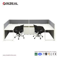 Combinaison modulaire de poste de travail de banc de style moderne d'ORIZEAL