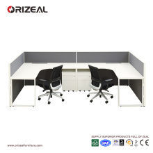 ORIZEAL modern style bench workstation modular combination