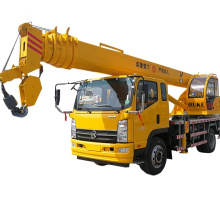 Guindaste móvel pequeno do caminhão da venda 8 toneladas