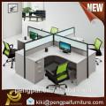 Cheap scratch resistant melamine workstation office desk