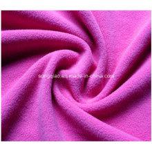 100% полиэфирная ткань из флиса в сплошном цвете