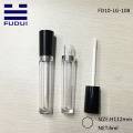 6ml Plastic Black Round Empty Lip Gloss Bottle
