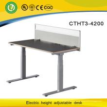 Nagelneu stehen Sie elektrische Aufzug-Höhen-justierbarer Schreibtisch für Laptop auf