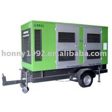2 roues ou 4 roues Remorque Diesel Générateur 20kVA-250kVA 50Hz 60Hz
