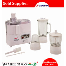 4 in 1 Mult Function Food Processor Include: Juicer, Blender, Grinder, Mincer