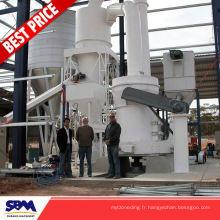 Usine célèbre de broyage de raymond de marque de SBM, moulin vertical de moulin de gypse