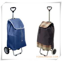 Bolso de la carretilla de las compras de dos ruedas para los regalos promocionales (HA82013)