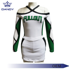 Sublimation printed cheer uniform for youth