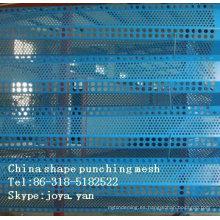 China proveedor de forma especial de perforación de malla