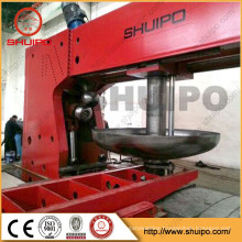 Hot sale SHUIPO Tank head flanging machine flanging machine for Steel Hemispheric Heads For Pressure Vessel