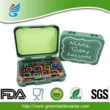 आसान ले जाने के प्लास्टिक मिनी लंच बॉक्स के लिए बच्चों के लंच बॉक्स माइक्रोवेव खाद्य कंटेनर