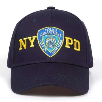 New Fashion Police Embroidered Patches Baseball Cap Tactical