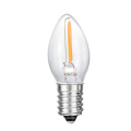 C7 New LED Tail Flameless Glass Candle Light Bulb 1W 2W 3W 4W