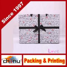 Saco de papel de arte / saco de papel branco (2215)