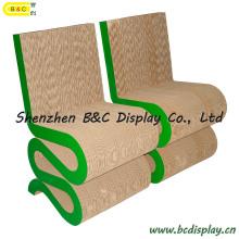 """Tabouret en papier """"S"""" / Chaises en carton (B & C-F013)"""