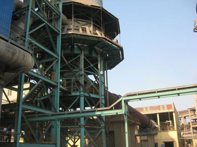 Vertical preheater