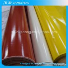 Silicone résistant aux produits chimiques d'isolation électrique recouvert de fibre de verre