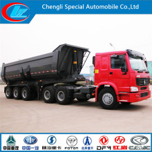 Anti-Corrosio Steel Truck Trailer, Anti-Acid, Semi Trailer Heavy Tipper Truck,
