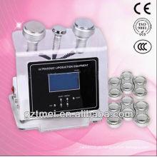 3 em 1 máquina do exilis do resuction da gordura da cavitação do ultra-som (venda quente)