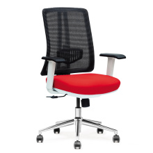 Beautiful white frame office chair for office
