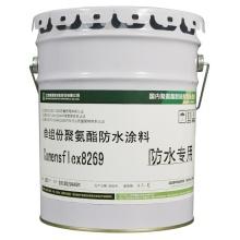 Selbstnivellierende feuchtigkeitshärtbare PU (Polyurethan) Wasserdichte Membran (Comensflex 8269)