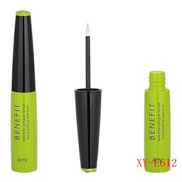 Fashionable Triangle Olive Green Eyeliner Bottle