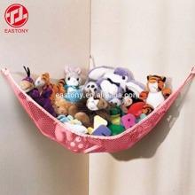Organizador de red de almacenamiento de hamacas de juguete Jumbo EASTONY para peluches blandos para guardería
